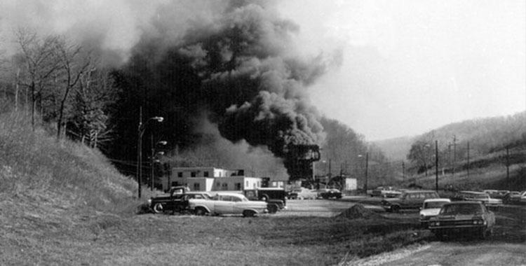 28 de abril explosão mina virginia